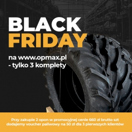 BLACK FRIDAY W OPMAX